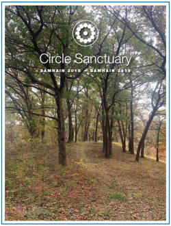 Circle Sanctuary 2019 Annual Report Page 1