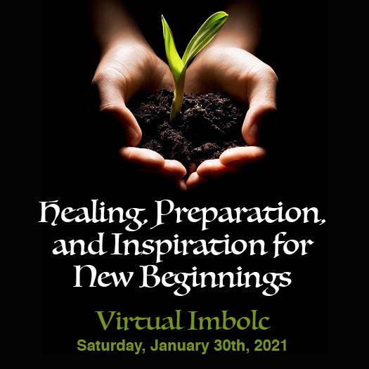 Imbolc 2021 Circle website